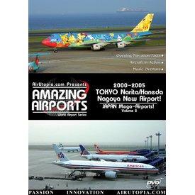Air Utopia DVD Japan Mega Airports: Volume 2: 2000-2005 Tokyo Nagoya #23