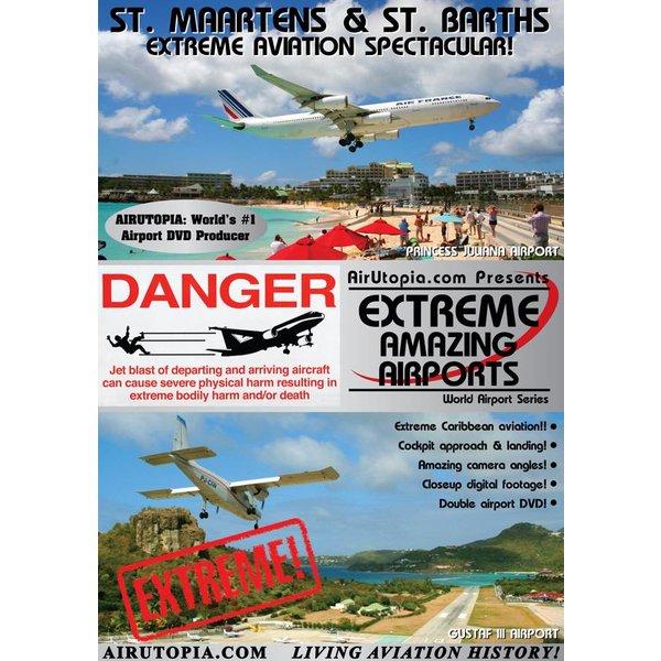 Air Utopia DVD Saint Maarten & St. Barths: Extreme Airports #61