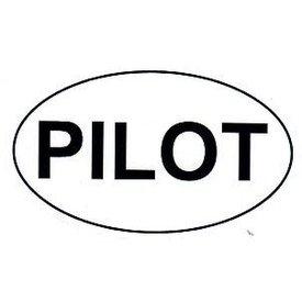 Euro Style Sticker PILOT oval