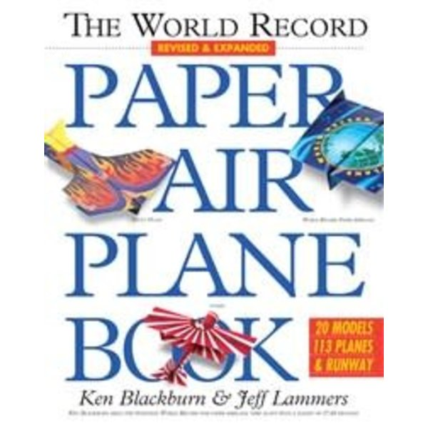 Workman Publishing World Record Paper Airplane Book softcover