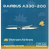 A330-200 Vietnam Airlines 2014 Livery VN-A376 1:400