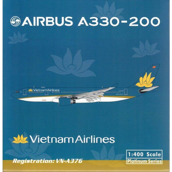 Phoenix A330-200 Vietnam Airlines 2014 Livery VN-A376 1:400