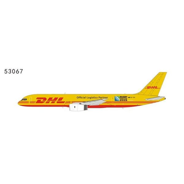 NG Models B757-200F DHL Rugby World Cup 2015 Official Logistics Partner VH-TCA 1:400