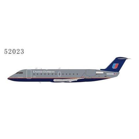 CRJ200LR United Express 1992 Battleship Grey Livery N959SW 1:200