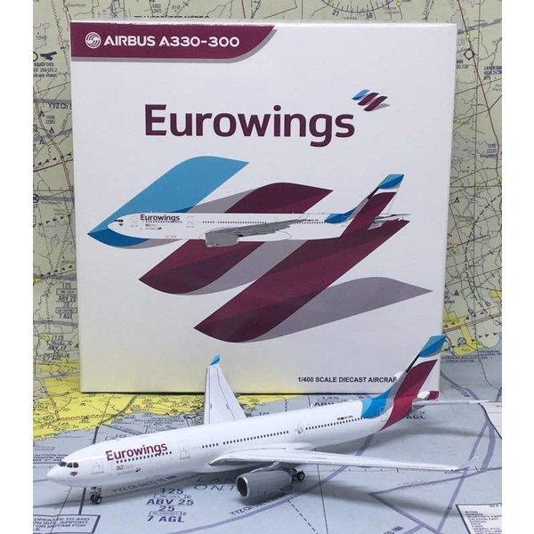 JC Wings A330-300 Eurowings OO-SFB 1:400