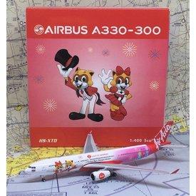Phoenix A330-300 Thai Air Asia X Lotte World HS-XTD 1:400