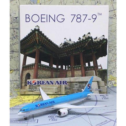 B787-9 Dreamliner Korean Air HL7206 1:400