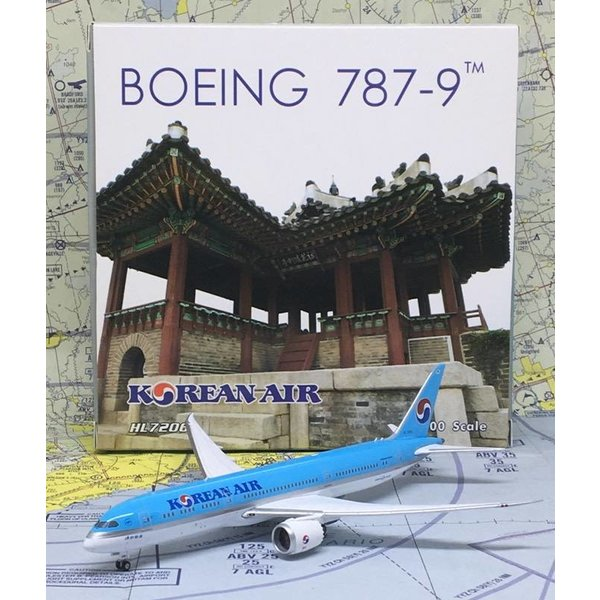 Phoenix B787-9 Dreamliner Korean Air HL7206 1:400