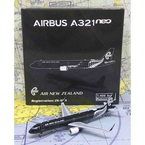 A321neo Air New Zealand All Blacks ZK-NNA 1:400