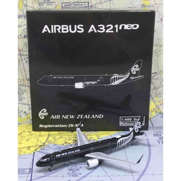 Phoenix A321neo Air New Zealand All Blacks ZK-NNA 1:400