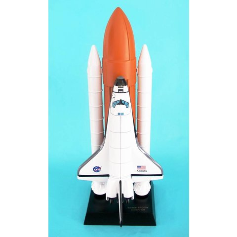 Space Shuttle Atlantis Full Stack 1:100