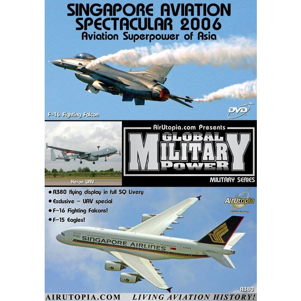 Air Utopia DVD Singapore Airshow Aviation Spectacular 2006 #48