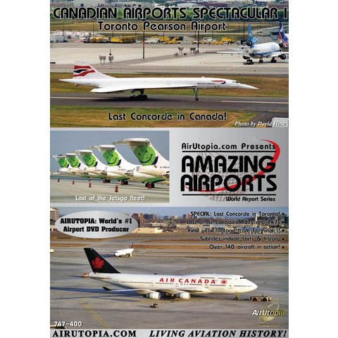 DVD Canadian Airports: Volume.1: YYZ: Last Concorde in Canada #30