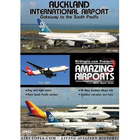 Air Utopia DVD Auckland International Airport New Zealand #53
