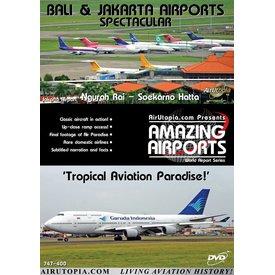 Air Utopia DVD Bali / Jakarta Airport Indonesia: Tropical Paradise #49