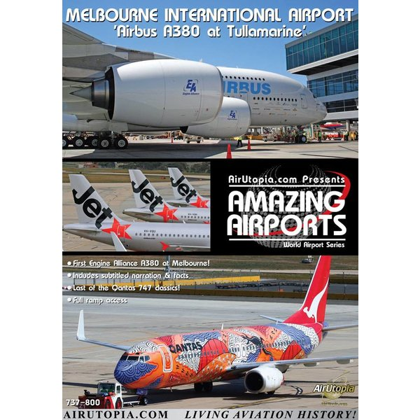 Air Utopia DVD Melbourne International Airport #64