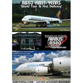 Air Utopia DVD Airbus A380: First Yrs: World Tour1st Delivery #82