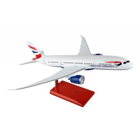 B787-8 Dreamliner British Airways 1:100 with stand