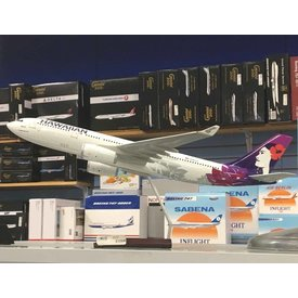 Gemini Jets A330-200 Hawaiian New Livery 2017 1:100 with stand**o/p**