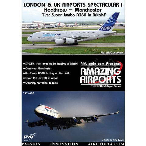DVD London & UK Airports: Heathrow & Manchester 1st A380 #29