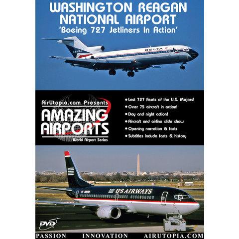 DVD Washington Reagan National Airport: Boeing 727 in Action #20