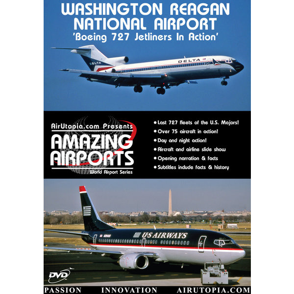Air Utopia DVD Washington Reagan National Airport: Boeing 727 in Action #20
