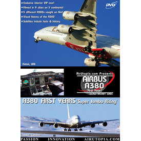 Air Utopia DVD Airbus A380: First Years: Super Jumbo Rising #1