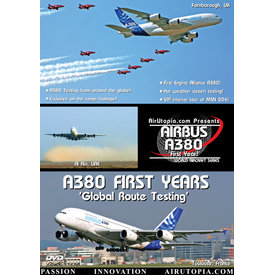 Air Utopia DVD Airbus A380: First Years: Global Route Testing #38