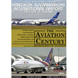 Air Utopia DVD Bangkok Suvarnabhum International Airport: Pride of Thailand #36