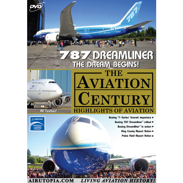 Air Utopia DVD Boeing 787 Dreamliner: The Dream Begins #34