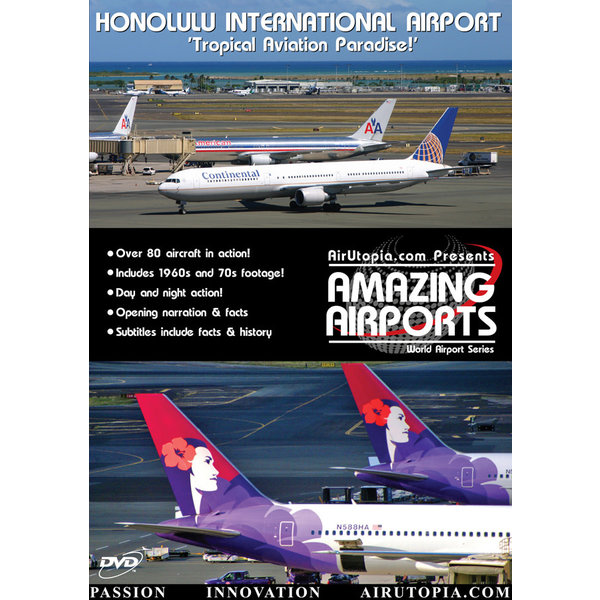 Air Utopia DVD Honolulu International Airport: Tropical Paradise #33