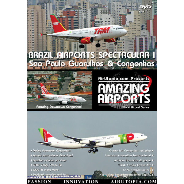 Air Utopia DVD Brazil Airports I: Sao Paulo Guarulhos & Congonhas #35