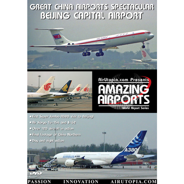 Air Utopia DVD Great China Airports: Beijing Capital Airport #39