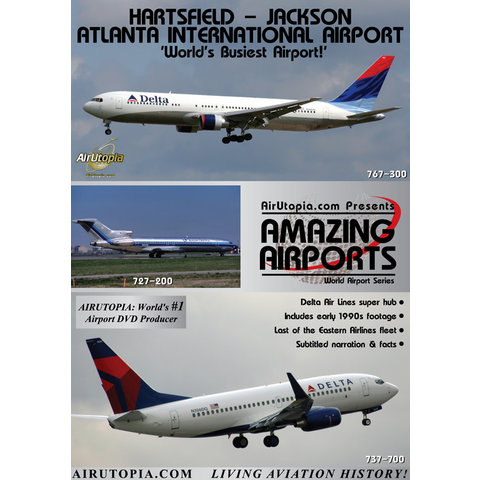 DVD Atlanta Hartsfield Jackson International Airport: World's Busiest #58