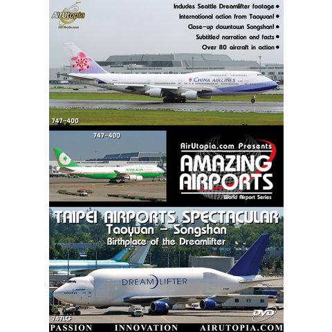 DVD Taipei Airports: Taoyuan Songshan Dreamlifter #60
