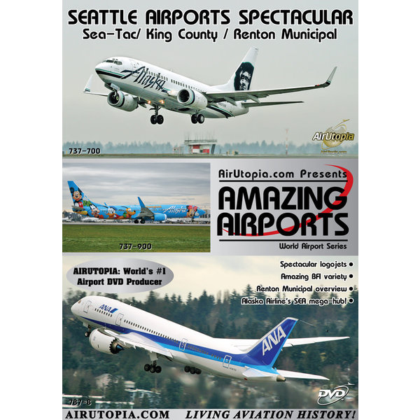 Air Utopia DVD Seattle Airports Spectacular: SeaTac Renton King County #91