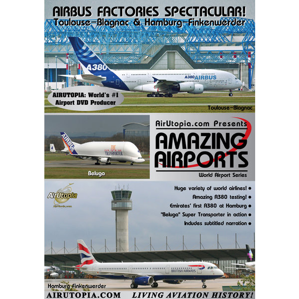 Air Utopia DVD Airbus Factories Toulouse Hamburg #89
