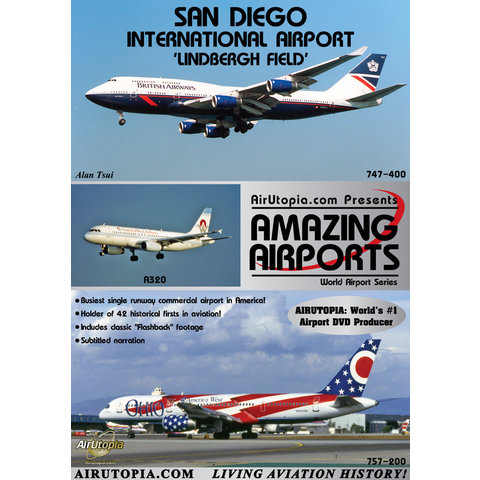 DVD San Diego Lindbergh International Airport #101