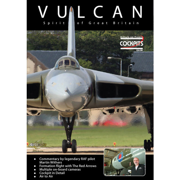 Air Utopia DVD Avro Vulcan Cockpit: Spirit of Great Britain #113