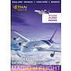 DVD Thai Airways Airbus A380-800 Cockpit Bangkok Hong Kong #114
