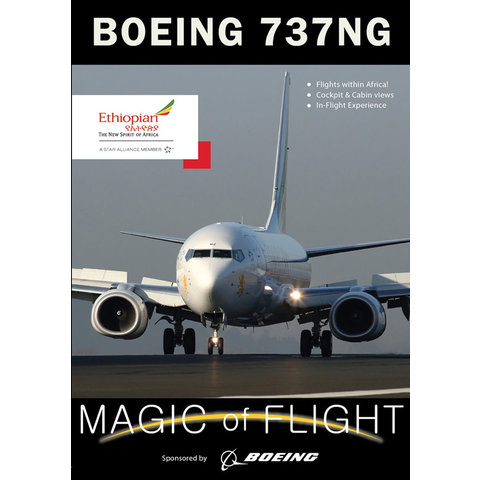 DVD Ethiopian Boeing B737-800 NG Cockpit: Magic of Flight #117