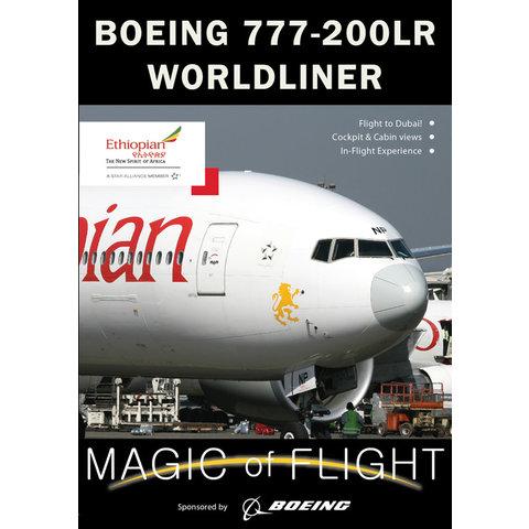 DVD Ethiopian Boeing B777-200LR Cockpit: Magic of Flight #123