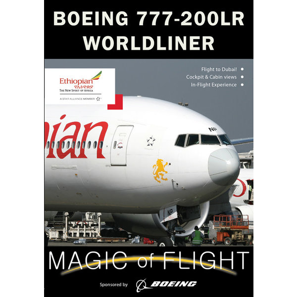 Air Utopia DVD Ethiopian Boeing B777-200LR Cockpit: Magic of Flight #123