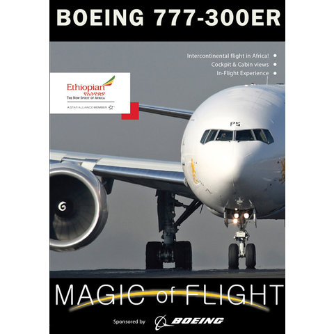 DVD Ethiopian Boeing B777-300ER Cockpit: Magic of Flight #124