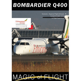 Air Utopia DVD Ethiopian Bombardier Q400: Magic of Flight #125