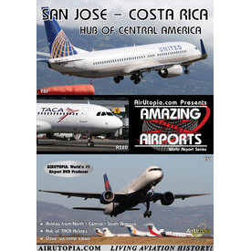 Air Utopia DVD San Jose Santamaria Airport Costa Rica #126