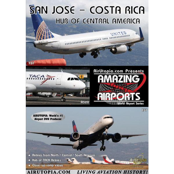 Air Utopia DVD San Jose Santamaria Airport Costa Rica #126