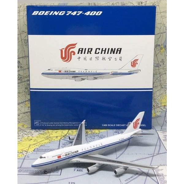 JC Wings B747-400 Air China B-2447 1:400