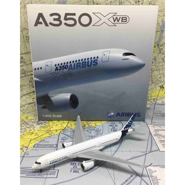 JC Wings A350-900 Airbus House Livery F-WXWB 1:400 with antennae