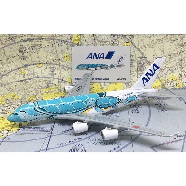 JC Wings A380-800 ANA Sea Turtle Kai Green JA382A 1:400